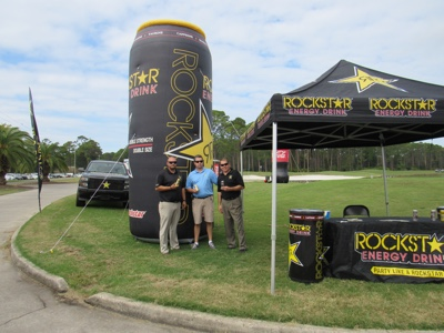 Rockstar at Golf Tournament